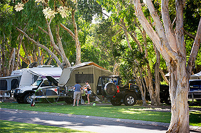 Camp Grounds and Caravan Parks Australia